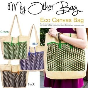 """NEW: """"My Other Bag Is"""" Goyard Green St. Louis Bag"""